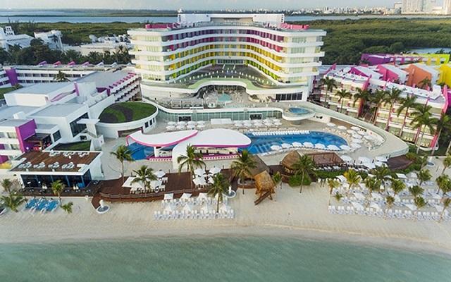 Hotel Temptation Cancún Resort, buena ubicación