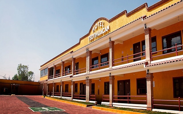 Hotel Teotihuacán en Teotihuacán