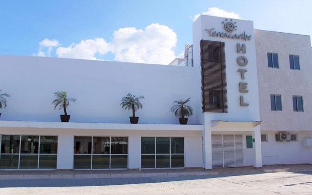Hotel Terracaribe, ingreso