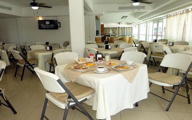 Hotel Terracaribe, restaurante