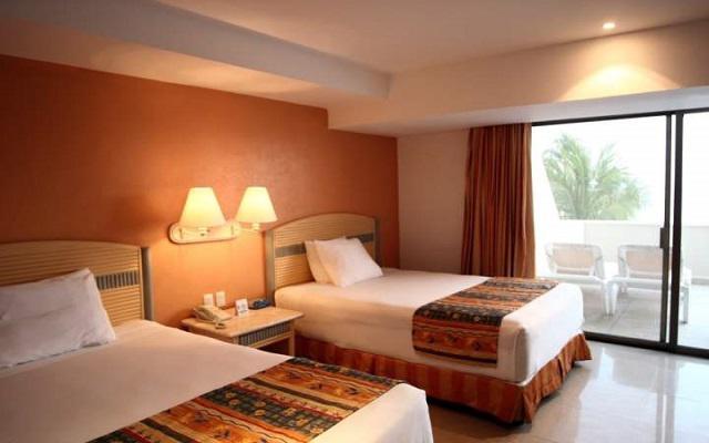 Hotel Tesoro Ixtapa, habitaciones cómodas y acogedoras