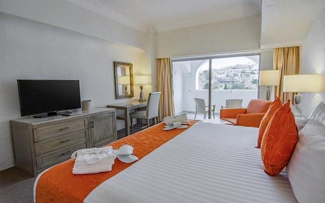 Hotel Tesoro Manzanillo, habitaciones bien equipadas