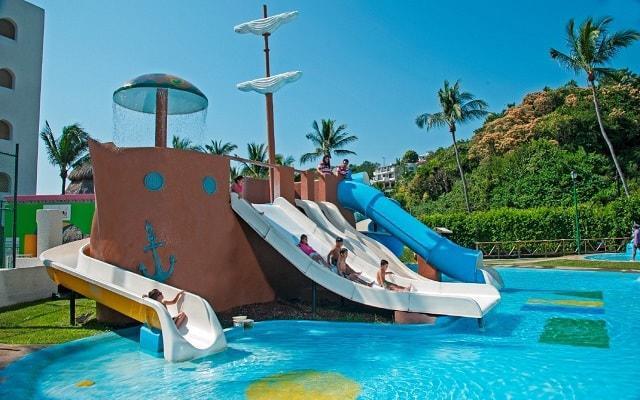 Hotel Tesoro Manzanillo, chapoteadero para que los pequeños disfruten al máximo