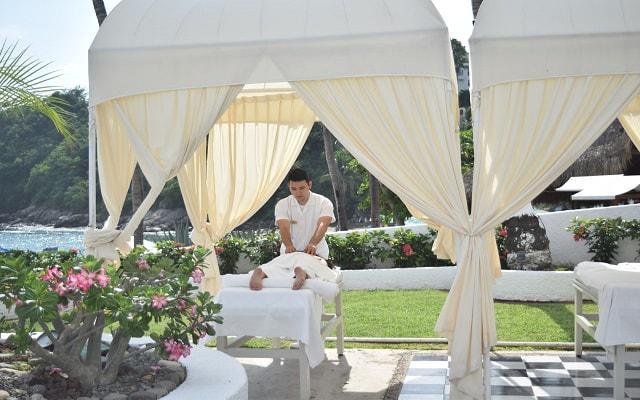 Hotel Tesoro Manzanillo, servicio de masajes