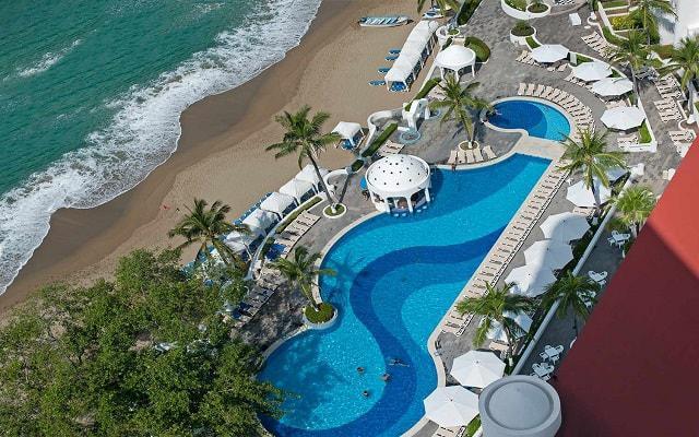 Hotel Tesoro Manzanillo, hermosa vista aérea