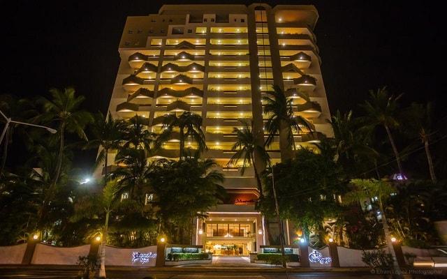 Hotel The Inn at Mazatlán, buena ubicación