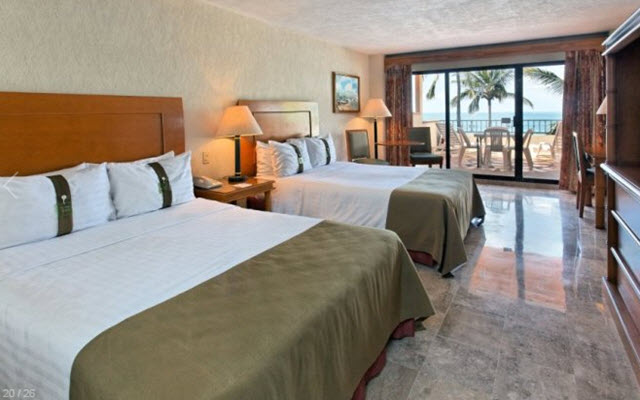 Hotel The Palms Resort Mazatlan, habitaciones amplias y luminosas