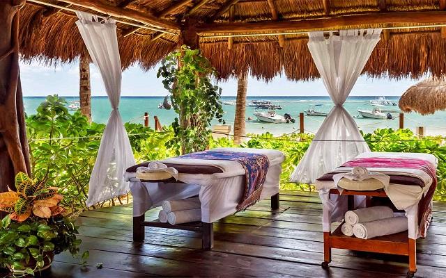 Hotel The Reef Coco Beach, permite que te consientan con un masaje