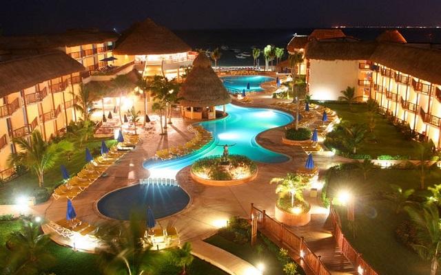 Hotel The Reef Coco Beach, hermosa vista nocturna