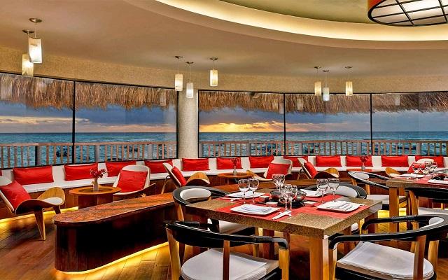 Hotel The Reef Coco Beach, Restaurante Samurai