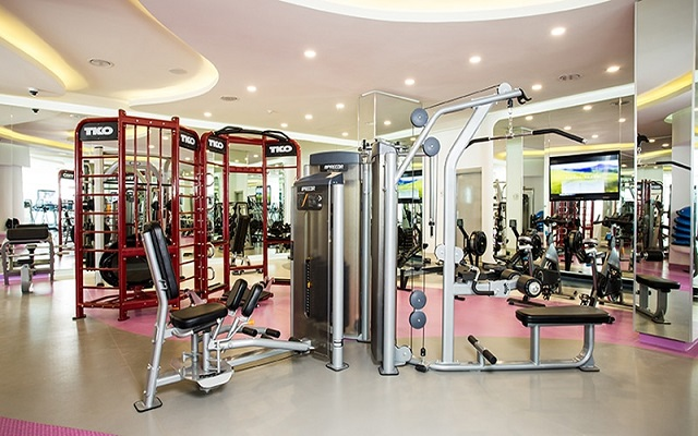 Hotel The Tower by Temptation Cancun, gimnasio