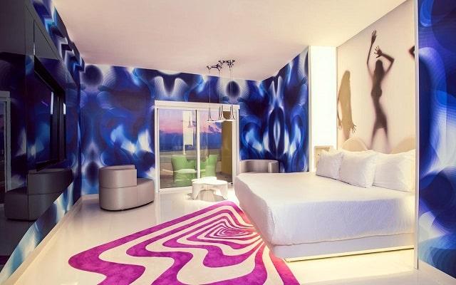 Hotel The Tower by Temptation Cancun, luminosas habitaciones