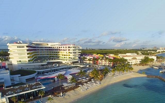 Hotel The Tower by Temptation Cancun, buena ubicación