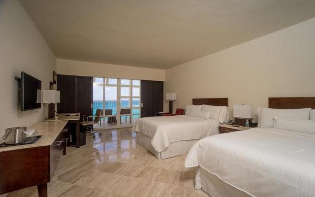Hotel The Westin Resort and Spa Cancún, amplias y luminosas habitaciones