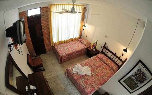 Hotel Tradicional Villa del Mar, habitaciones bien equipadas