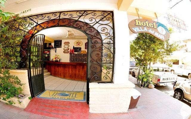 Hotel Tradicional Villa del Mar, ingreso