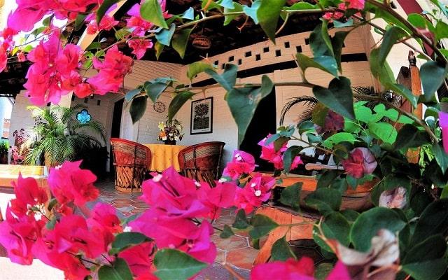 Hotel Tradicional Villa del Mar, terraza