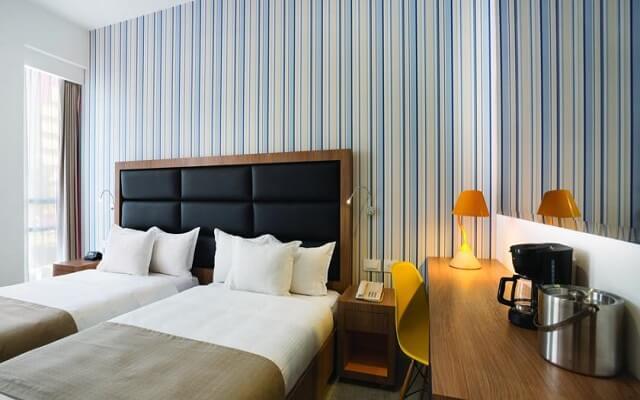 Hotel Tryp México WTC, habitaciones cómodas ya acogedoras