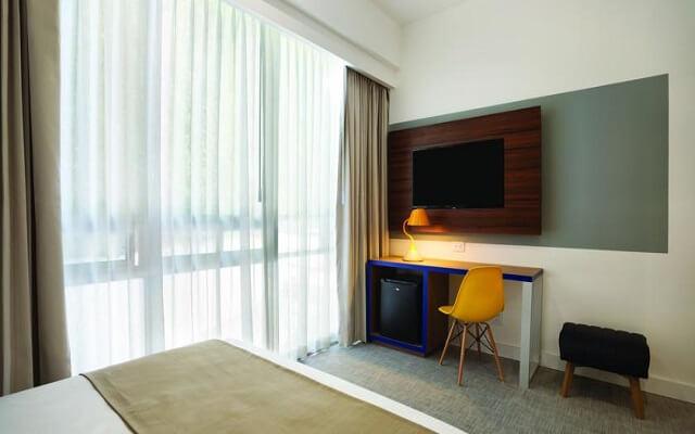 Hotel Tryp México WTC, habitaciones bien equipadas