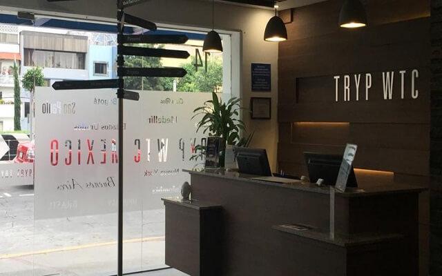 Hotel Tryp México WTC, ingreso