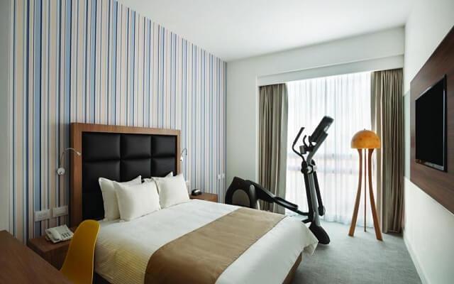Hotel Tryp México WTC, algunas habitaciones cuentan con elíptico