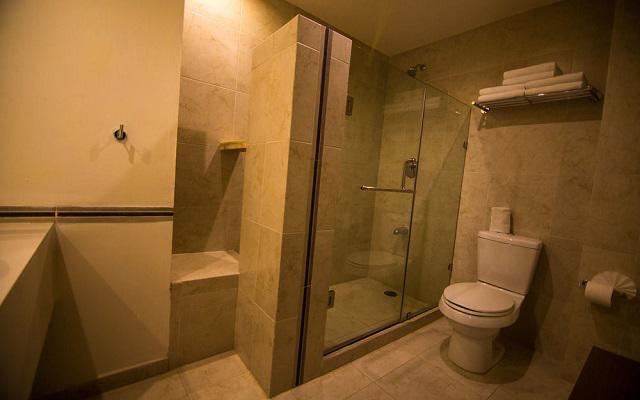 Hotel Tulijá Express las habitaciones poseen amplios espacios