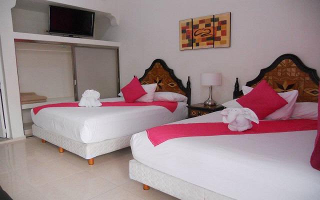 Hotel Tulum Inn con decoración contemporánea