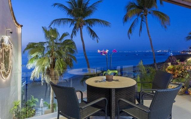 Hotel Vallarta Shores, relájate en el balcón