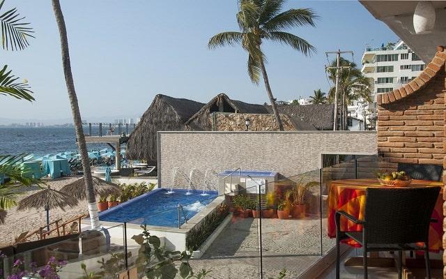 Hotel Vallarta Shores, buena ubicación