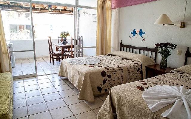 Hotel Vallartasol, habitaciones bien equipadas