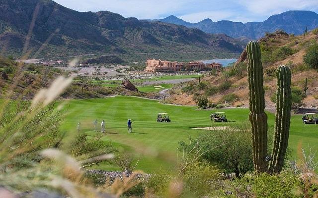Hotel Villa del Palmar en las Islas Loreto, campo de golf