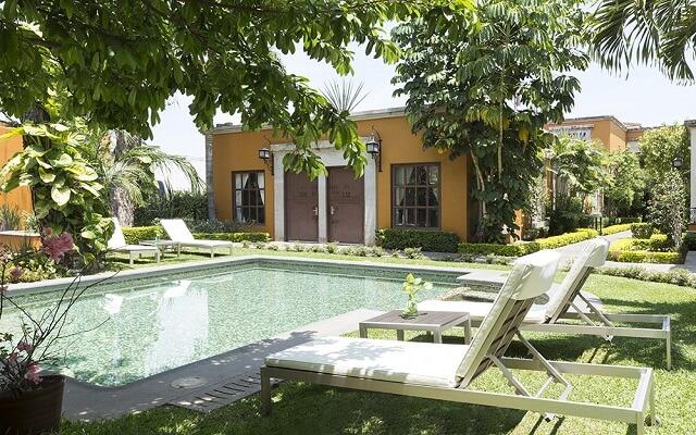 Hotel Villa Tequila, disfruta de su alberca al aire libre