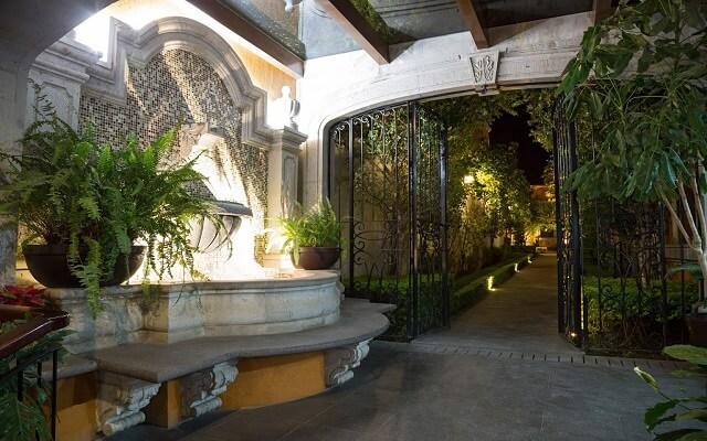 Hotel Villa Tequila, jardines