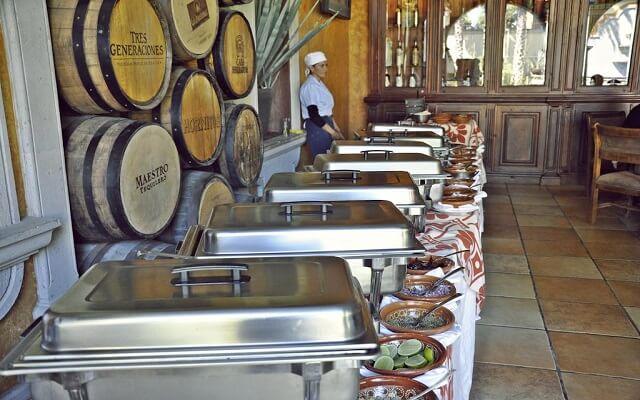 Hotel Villa Tequila, rico y variado menú para tus alimentos