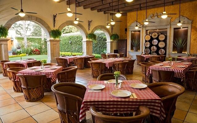 Hotel Villa Tequila, Restaurante Los Tequileros