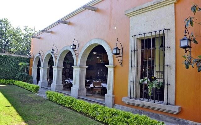 Hotel Villa Tequila, patio