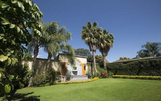 Hotel Villa Tequila, jardines que te invitan a recorrerlos