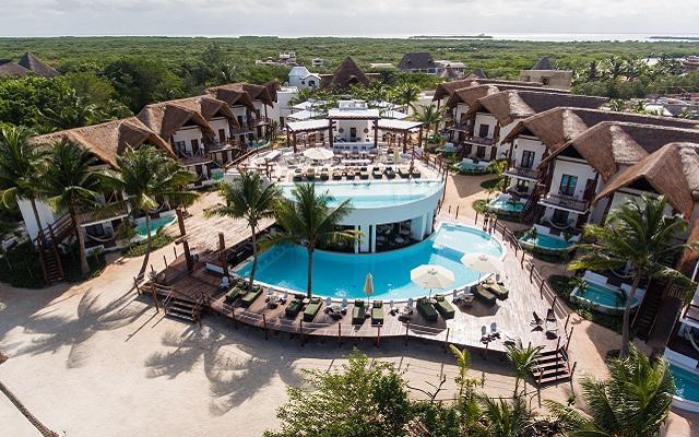 Hotel Villas HM Palapas del Mar en Holbox Isla