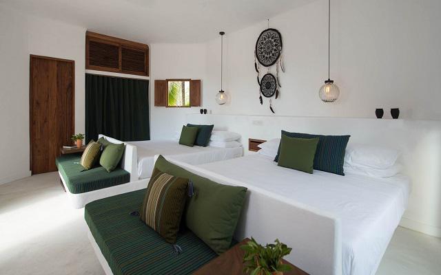 Hotel Villas HM Palapas del Mar cuenta con habitaciones cómodas