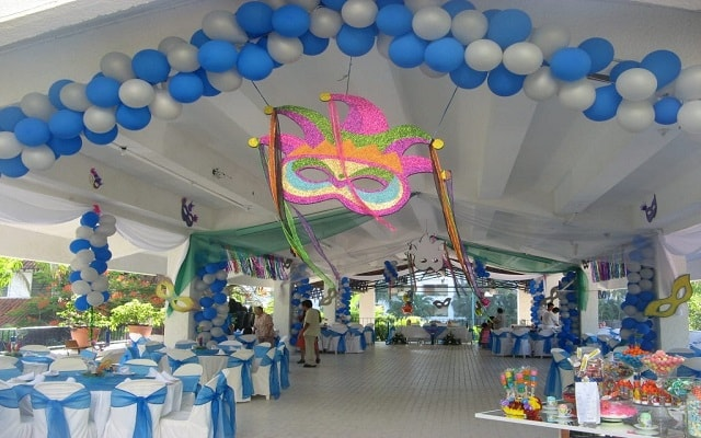 Villas Paraíso Ixtapa, salón de eventos