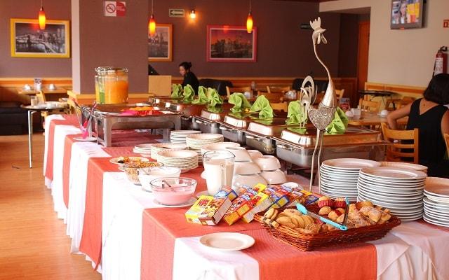 Hotel Vista Inn Premium, escenario ideal para tus alimentos