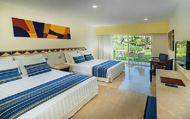 Hotel Viva Wyndham Azteca, amplias y luminosas habitaciones