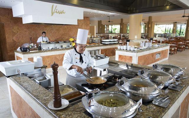 Hotel Viva Wyndham Maya, buena propuesta gastronómica