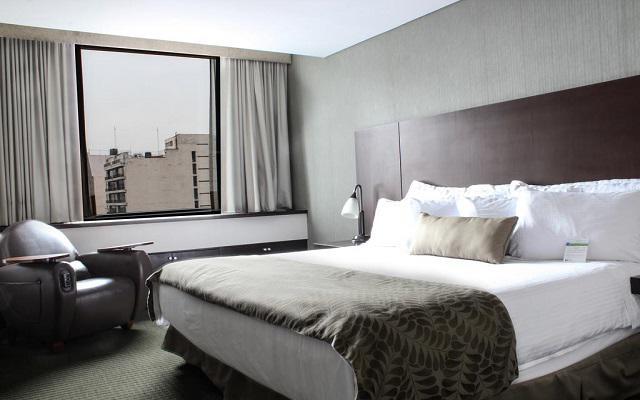 Hotel Wyndham Garden Polanco, habitaciones cómodas y acogedoras