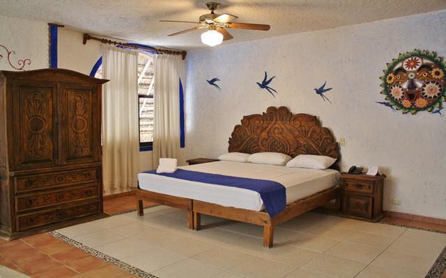 Habitaciones decoradas al estilo mexicano
