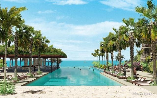 Hotel Xcaret México, disfruta de su alberca con vistas hermosas