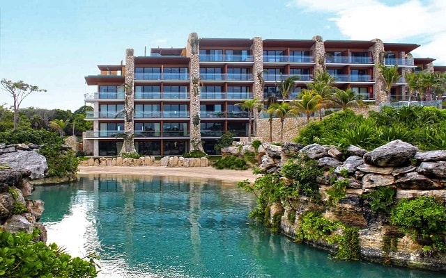 Hotel Xcaret México, ambientes rodeados de naturaleza
