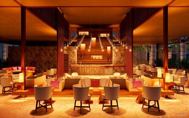 Hotel Xcaret México, lobby