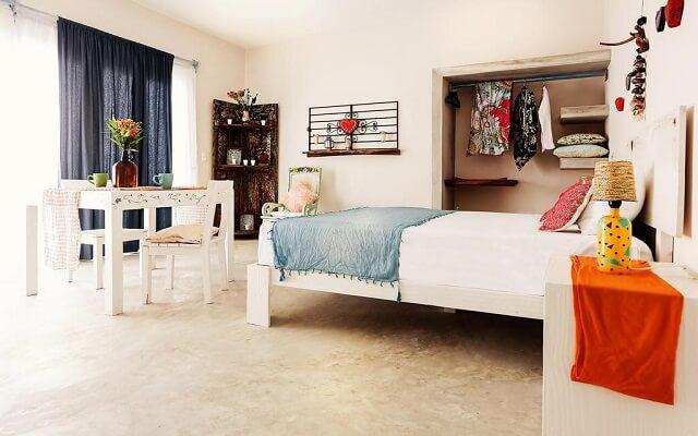 Hotel Xscape Tulum, amplias y luminosas habitaciones