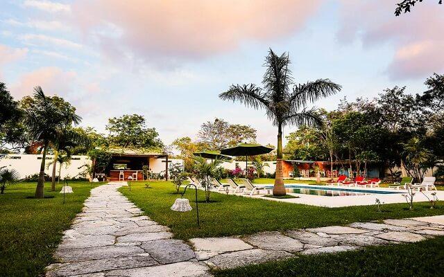 Hotel Xscape Tulum, disfruta de su lindo jardín
